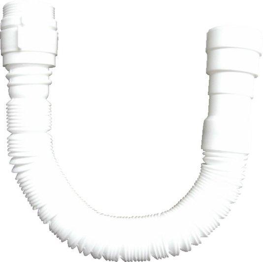 Sifão Plástico Sanfonado Universal Branco - Blukit