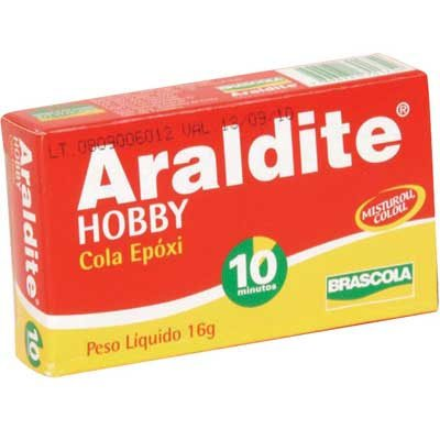Cola Líquida 2 ComponentesHobby 10 minutos Bisnaga 16g - Araldite