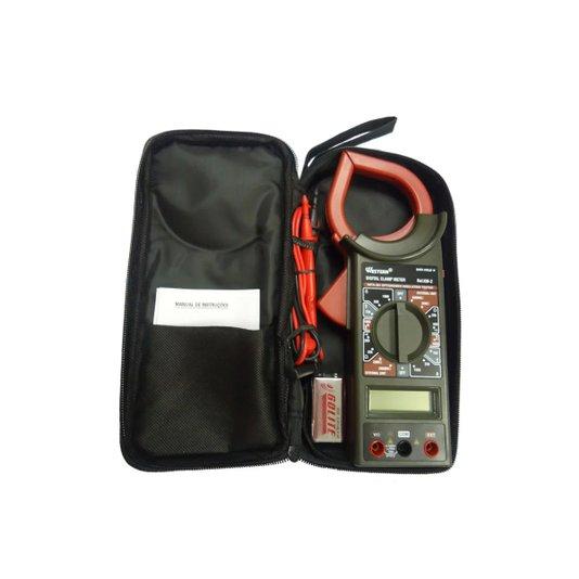 Amperímetro Digital Profissional com Estojo - Western