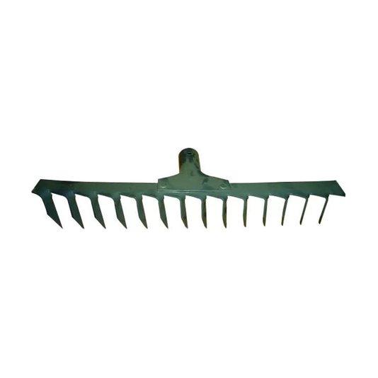 Ancinho de aço sem cabo com 14 Dentes - Crop