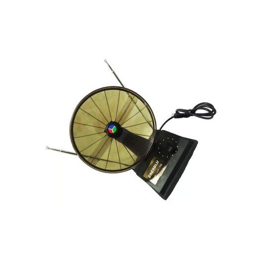 Antena Interna Tipo Parabólica Uso VHF/UHF/FM - Enerblu