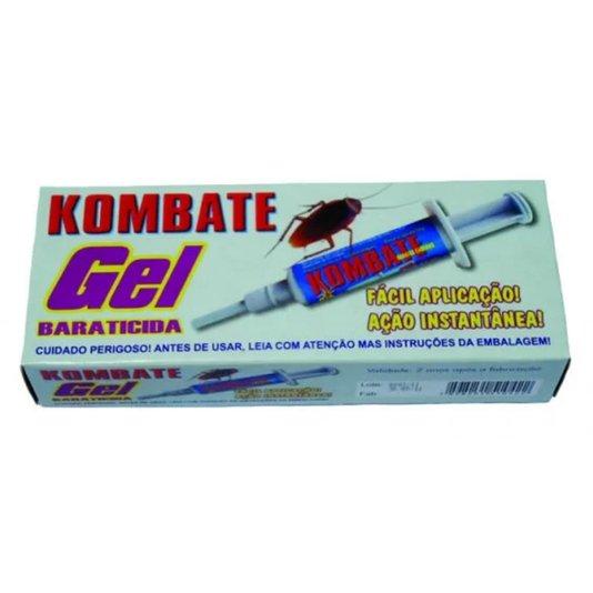 Baraticida Gel com Aplicador Seringa 10g - Kombate