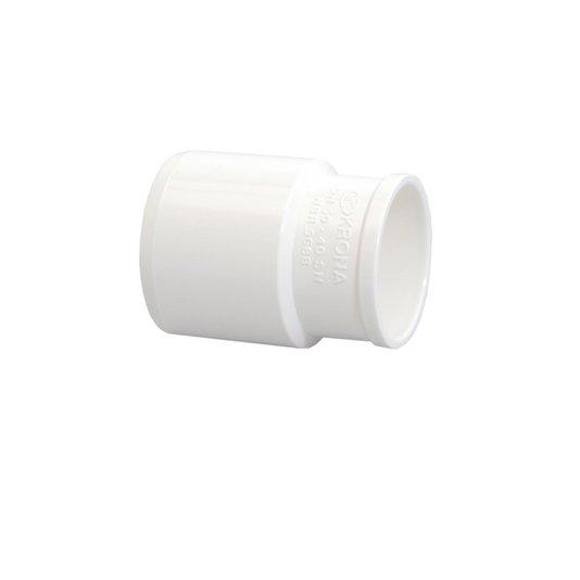 Bucha Redução para Esgoto Branca 50mm x 40mm - Krona