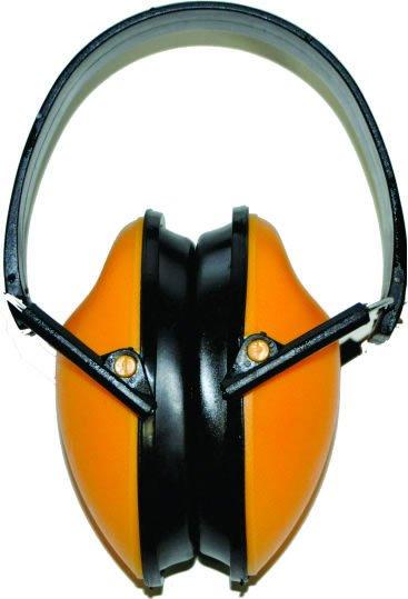 Protetor Auricular / Auditivo Tipo Abafador / Fone Amarelo Profissional - Plastcor