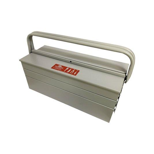 Caixa de Ferramentas Metálica 50x20x21cm - Worker