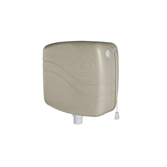 Caixa Descarga Plástica 9 litros Bege Creme - Metasul
