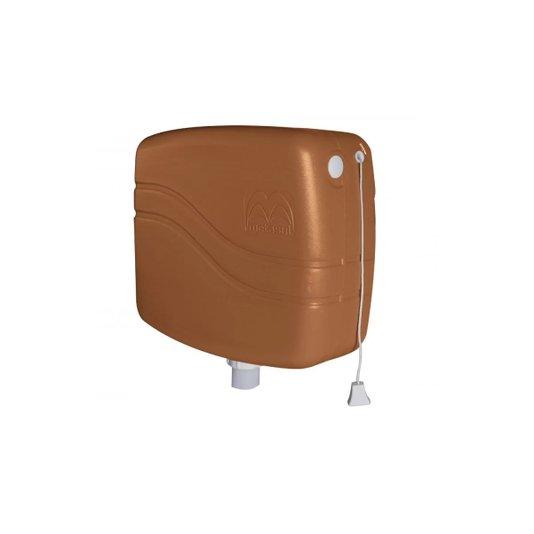 Caixa Descarga Plástica 9 litros Caramelo - Metasul
