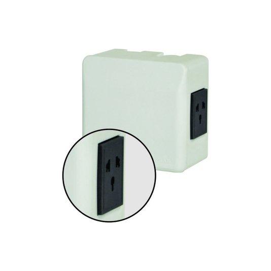 Caixa Proteção Elétrica Computador / Ar Condicionado com Tomada 3 pinos - Soprano