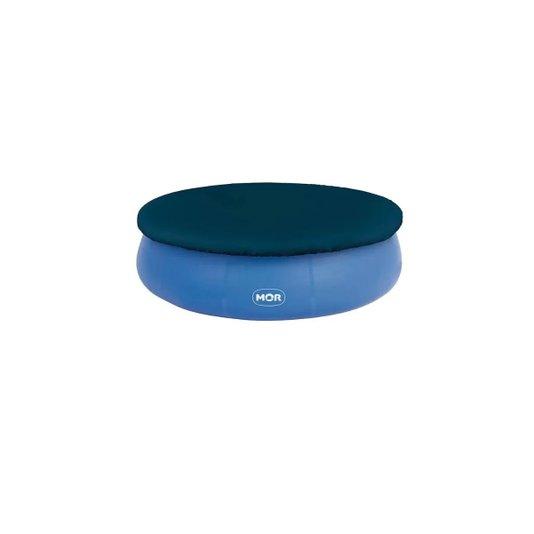 Capa para Piscina Plástica Redonda Azul 2.400 Litros - Mor