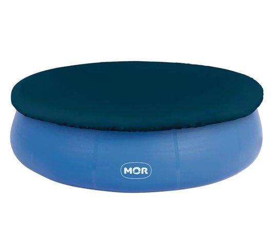 Capa para Piscina Plástica Redonda Azul 4.600 Litros - Mor