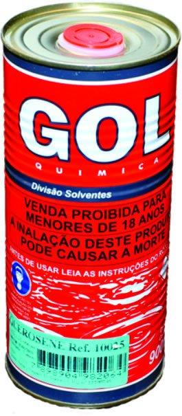 Querosene Líquida Lata Metálica 900ml - Gol
