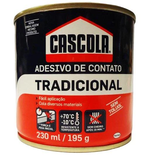 Cola Contato ( Sapateiro ) Cascola Tradicional Lata 195g - Henkel