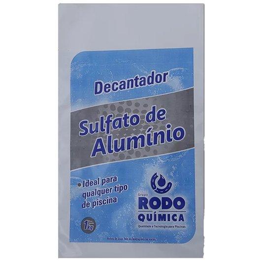 Decantador Sulfato de Alumínio 1kg - Rodoquimica