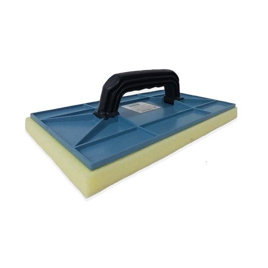 Desempenadeira Plástica com Espuma  17 x 30 cm - Zumplast