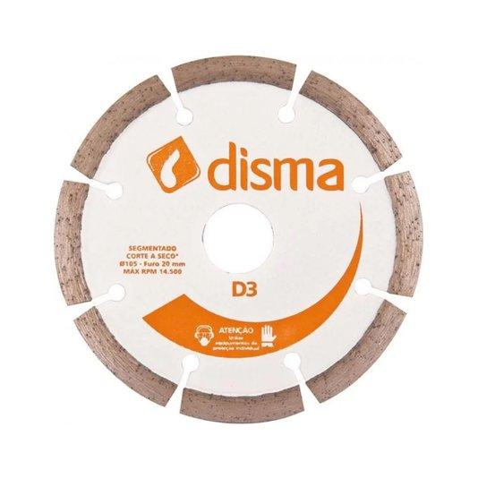 "Disco Corte Diamantado para Makita 4"" Encartelado Segmentado - Disma"