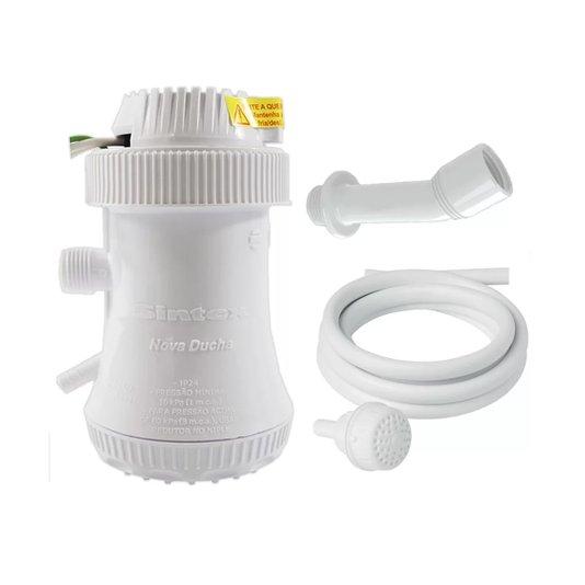 Ducha Elétrica Nova Ducha Branca 3 T 5500Wx220V Sintex