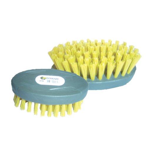Escova Plástica Oval Cabo Plástico Ref 030 - Goulart