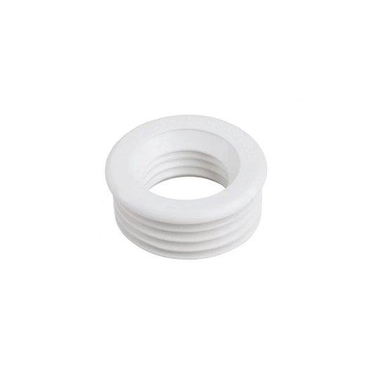 Espude Plástico Sanfonado Branco 40mm para Vaso Sanitário - Plasbohn