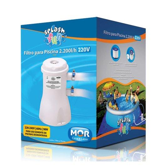 Filtro Piscina 220V Vazão 2.200 Litros/Hora - Mor