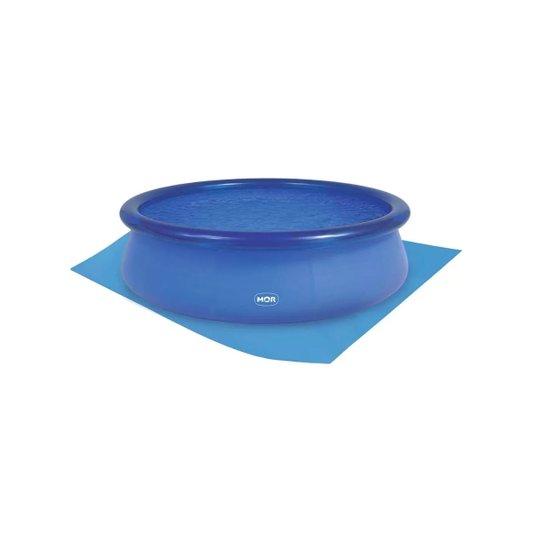 Forro para Piscina Plástica Redonda Splash Fun Azul 2.400 Litros - Mor