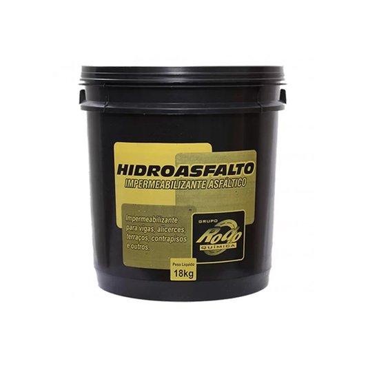 Impermeabilizante Asfáltico Hidroasfalto 18Kg - Rodoquimica