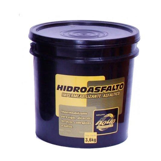 Impermeabilizante Asfáltico Hidroasfalto 3,6Kg - Rodoquimica
