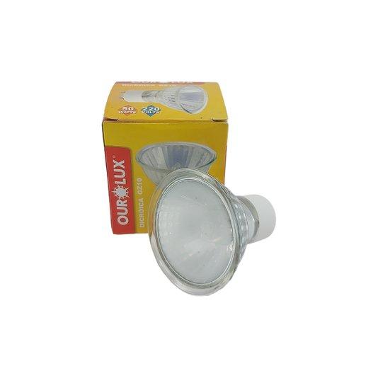 Lâmpada Dicróica Base GZ10 50w 220v 50X50X50 - Ourolux