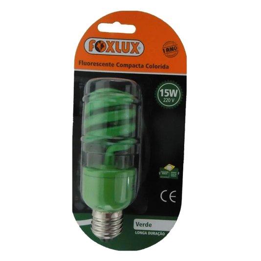 Lâmpada Eletrônica Espiral 15w Verde 220v – Ourolux