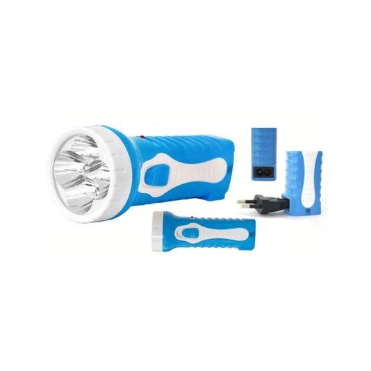 Lanterna Bateria Recarregável 4 Leds Cartela - Albatroz