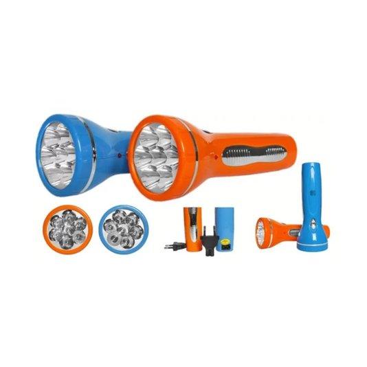 Lanterna com Bateria Recarregável 7 Leds Encartelada - Albatroz