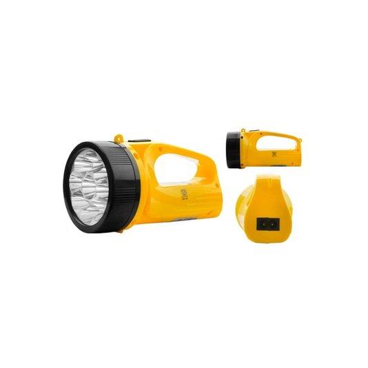 Lanterna Tipo Holofote 9 Leds Bateria Recarregável - Albatroz
