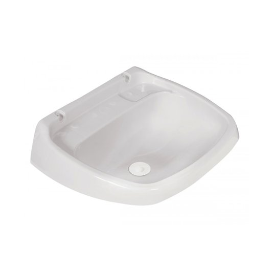 Lavatório Plástico Válvula Grande Branco - Metasul