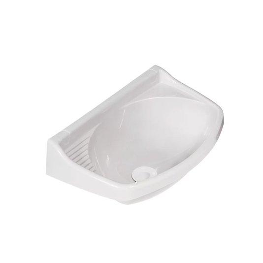 Lavatório Plástico Válvula Pequeno Branco - Metasul
