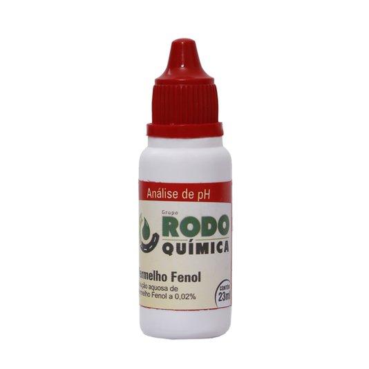 Medidor PH Vermelho Fenol 23Ml - Rodoquímica