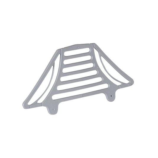Passarinheira Plástica para Telha Colonial/Paulista Cinza Embalagem com 50 unidades - Metasul