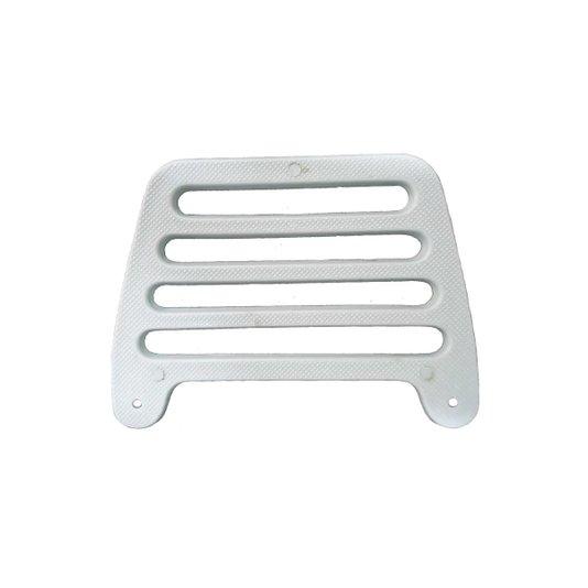 Passarinheira Plástica para Telha Duplan Cinza Embalagem com 50 unidades - Metasul