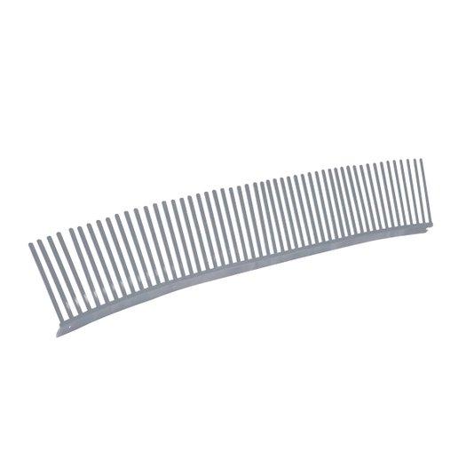 Passarinheira Plástica para telha Universal 50cm x 9,5cm Cinza Embalagem com 25 unidades - Metasul