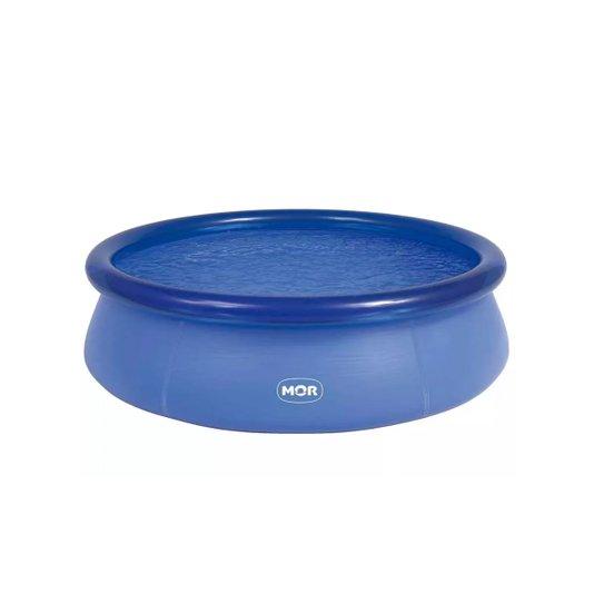 Piscina Plástica Redonda Azul 4600 Litros - Mor