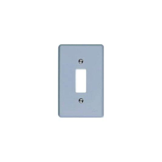 Placa para Interruptor 1 Tecla Cinza - Ilumi