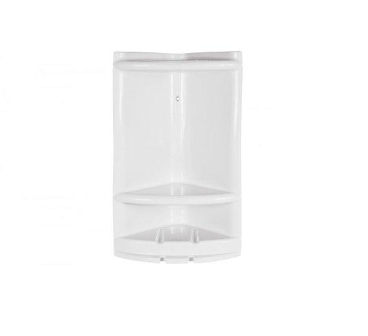 Porta Shampoo / Cantoneira Grande Branco - Metasul