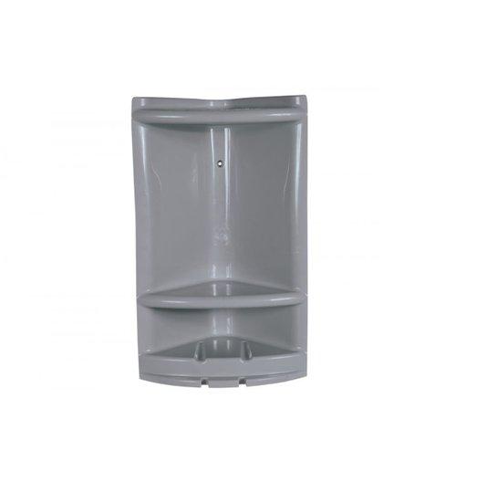 Porta Shampoo / Cantoneira Grande Cinza - Metasul