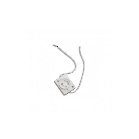 Porta Starter para Lâmpada Fluorescente com Rabicho Branco - Cerge