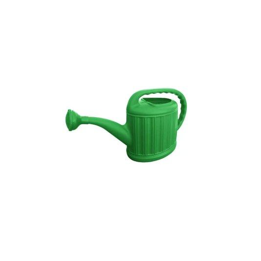 Regador Plástico Modelo Jardineiro com Crivo ( Bico ) 6 Litros Verde - Metasul