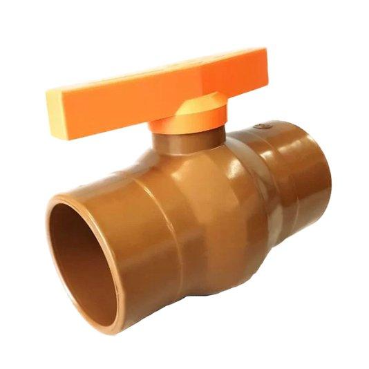 Registro PVC Esfera Soldável 20mm ¼ Volta - Unifortte