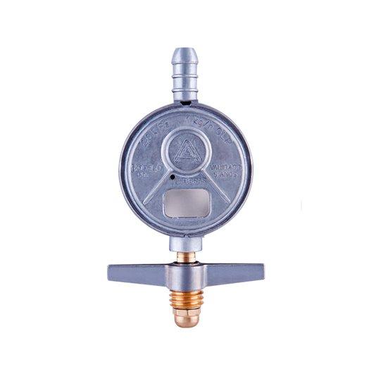 Regulador Gás Doméstico Pequeno Blindado 505/01 Vazão 1kg/hora - Aliança