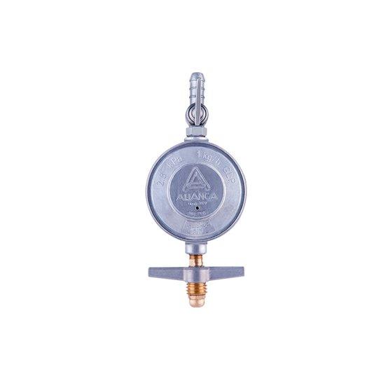 Regulador Gás Grande Blindado 504/01 Vazão 1kg/hora - Aliança