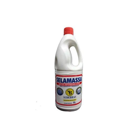 Selamassa Aditivo Impermeabilizante Reboco / Argamassa / Concreto 1 litro - Sudebras