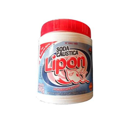 Soda Cáustica Escama Extra para Sabão 500g - Lipon