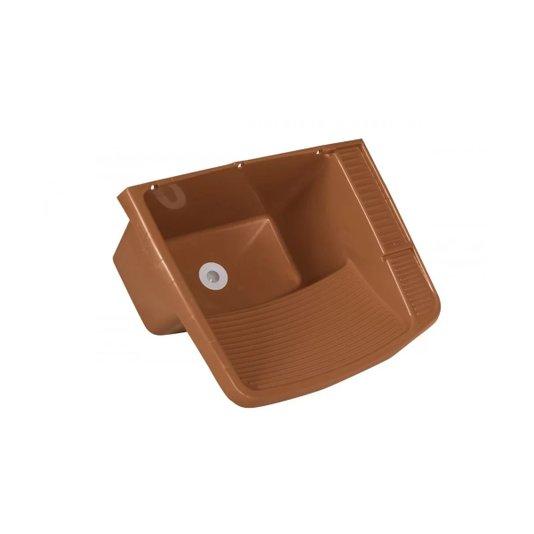 Tanque Plástico Válvula 15 Litros Caramelo - Metasul