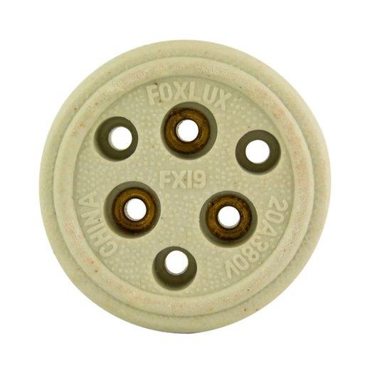 Tomada Elétrica Tripolar 20A Porcelana FX-19 - Foxlux